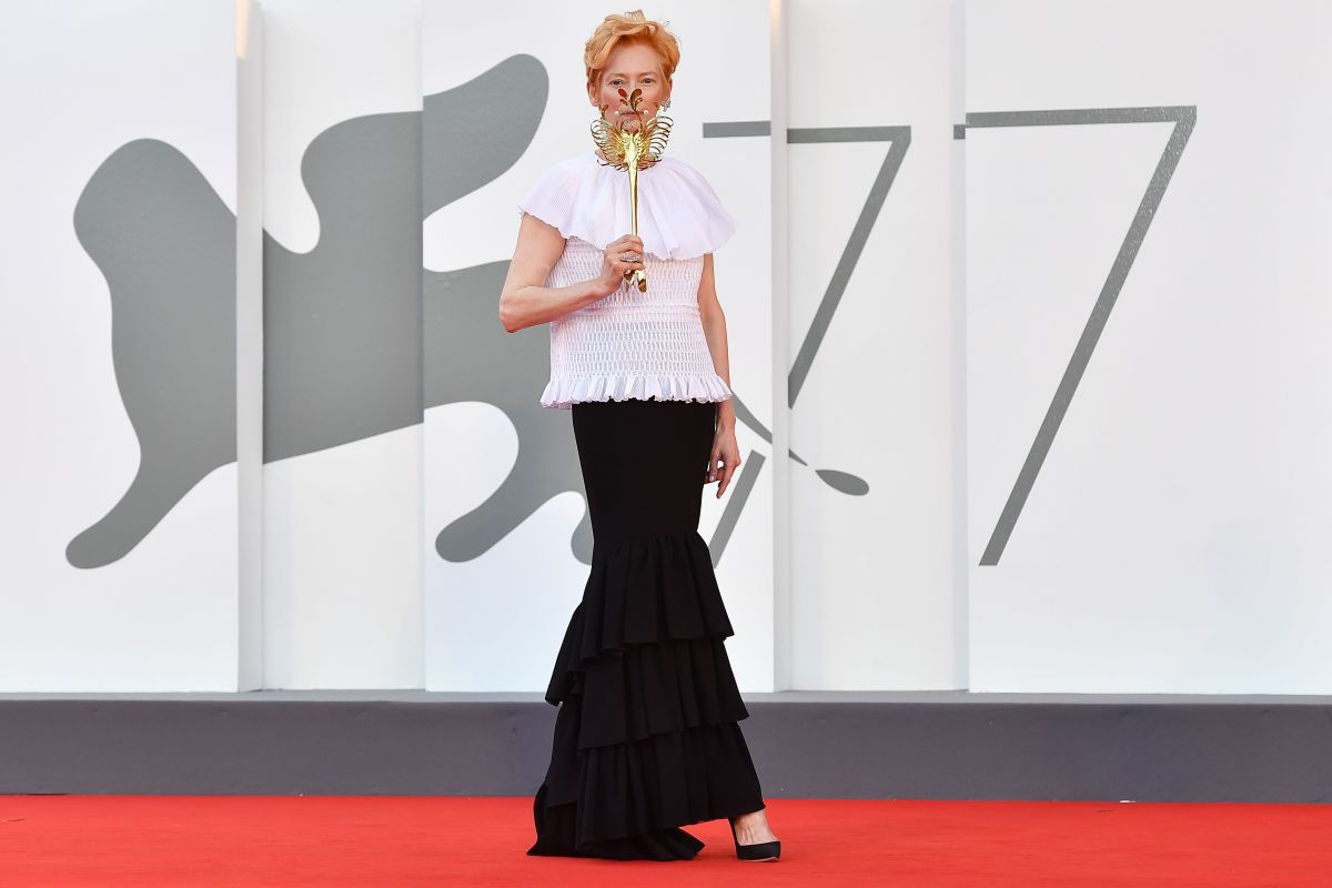 Tilda swinton 77th venice international film festival