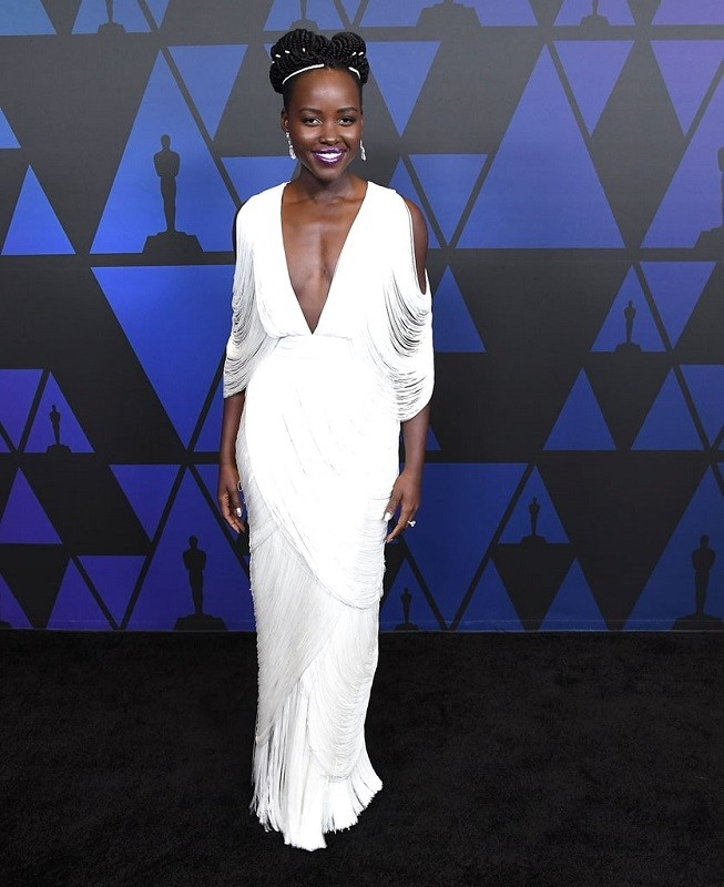 Lupita nyongo tom ford dress governors awards 2018