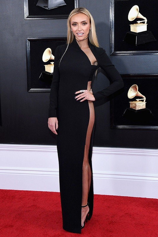 Giuliana rancic grammys 2019 1 in tom ford