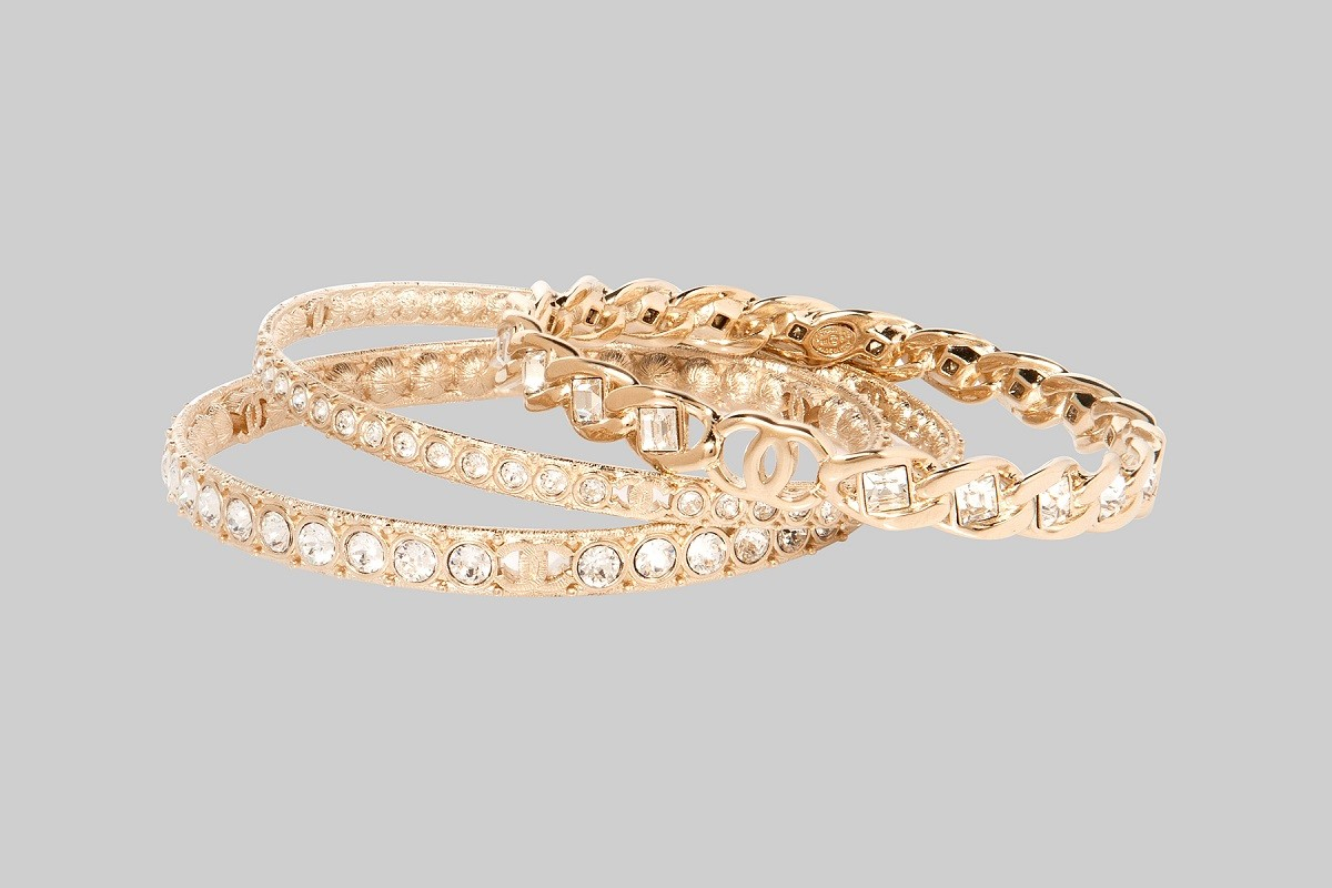 Bracelet en or et cristal LINEA PIU LUXURY ITEMS
