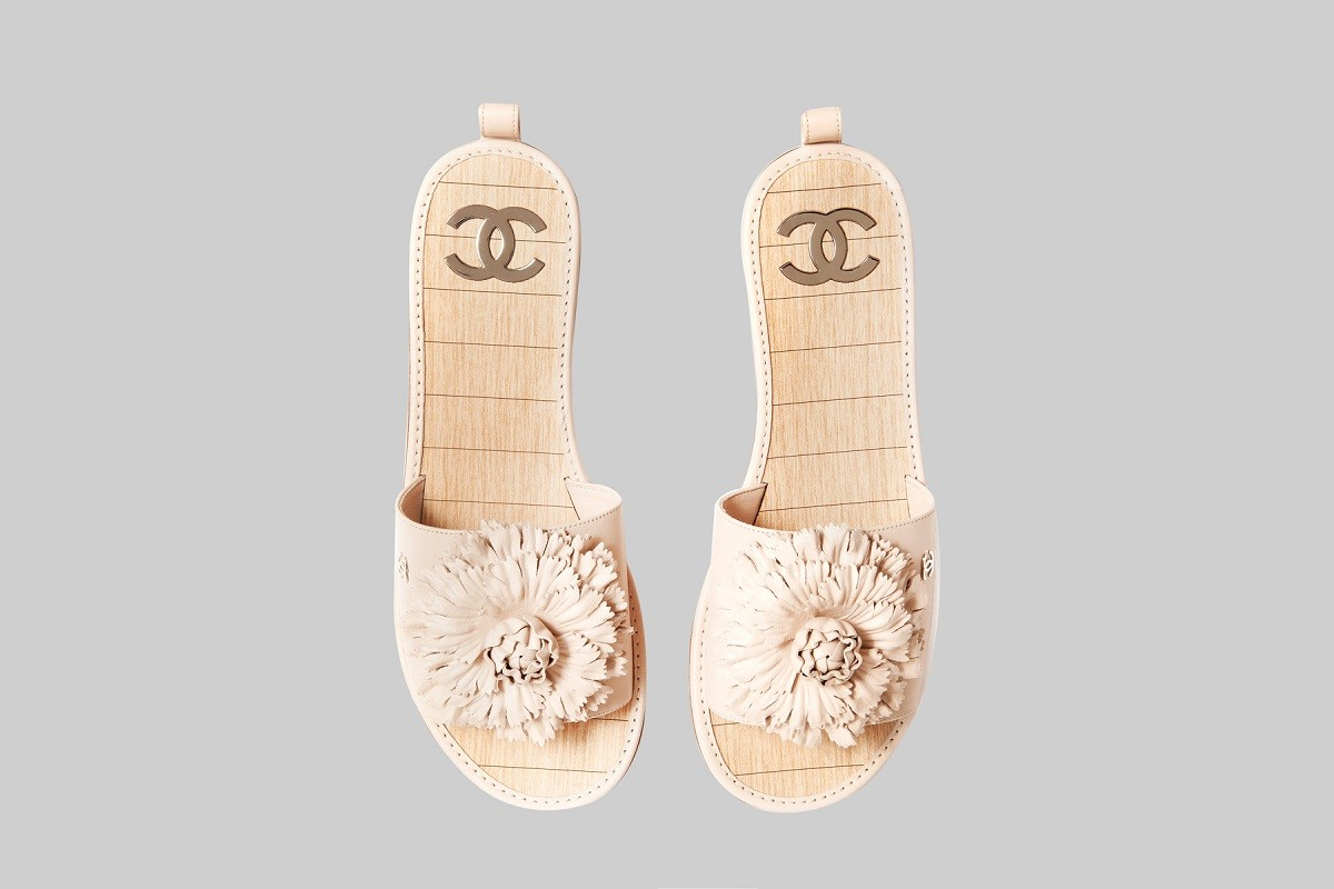 Mules camélia beige LINEA PIU LUXURY ITEMS
