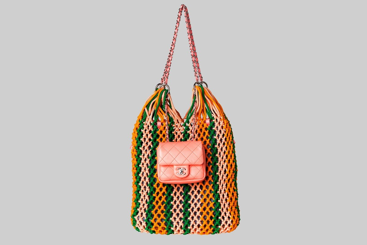 Sac shopping au crochet LINEA PIU LUXURY ITEMS