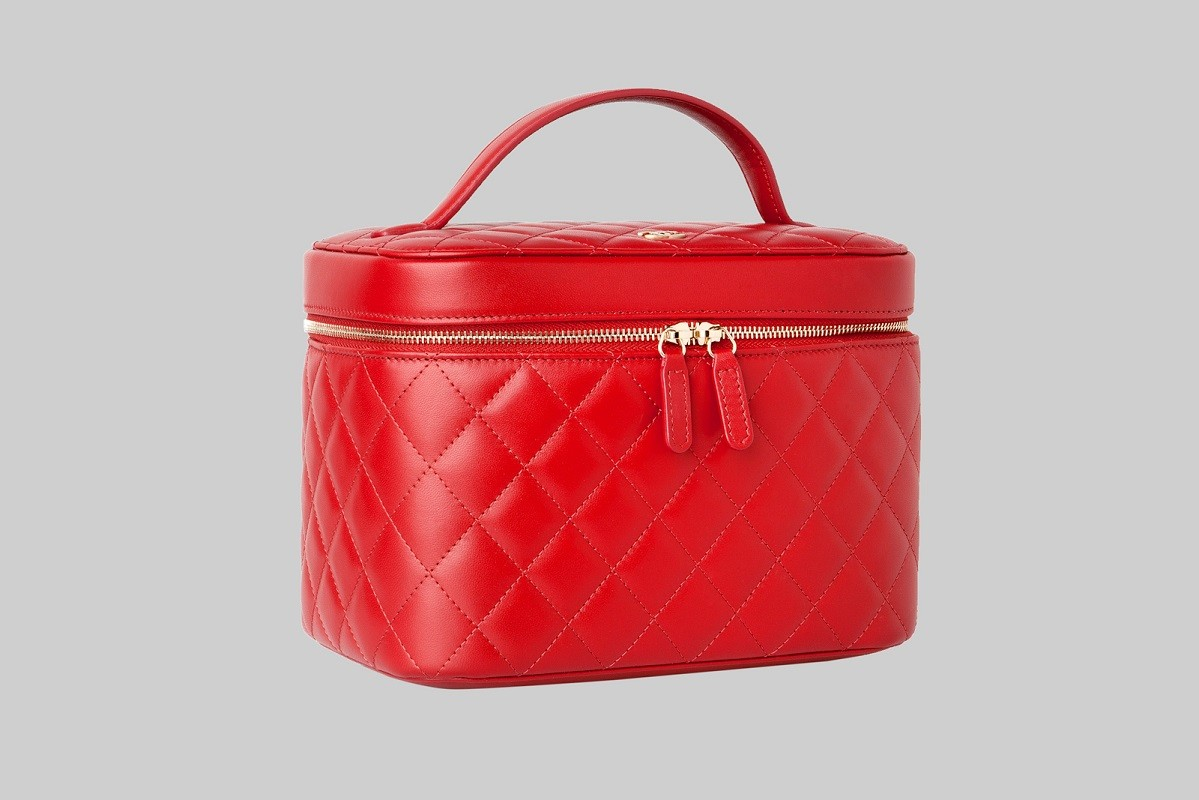 Trousse de toilette rouge LINEA PIU LUXURY ITEMS