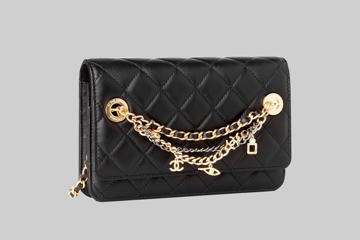 Mini sac noir LINEA PIU LUXURY ITEMS