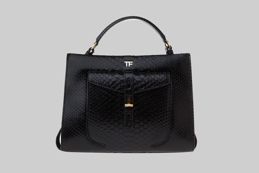Sac noir, python LINEA PIU LUXURY ITEMS