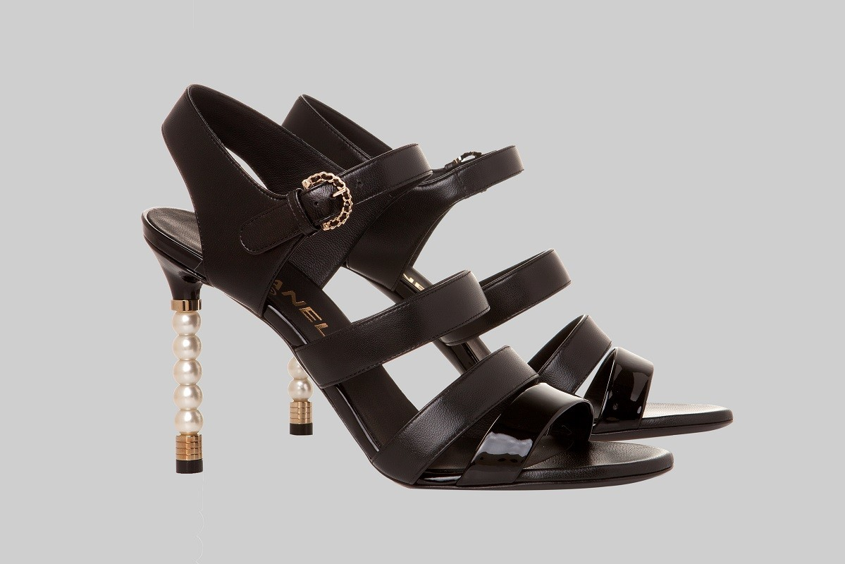 Sandales noires LINEA PIU LUXURY ITEMS