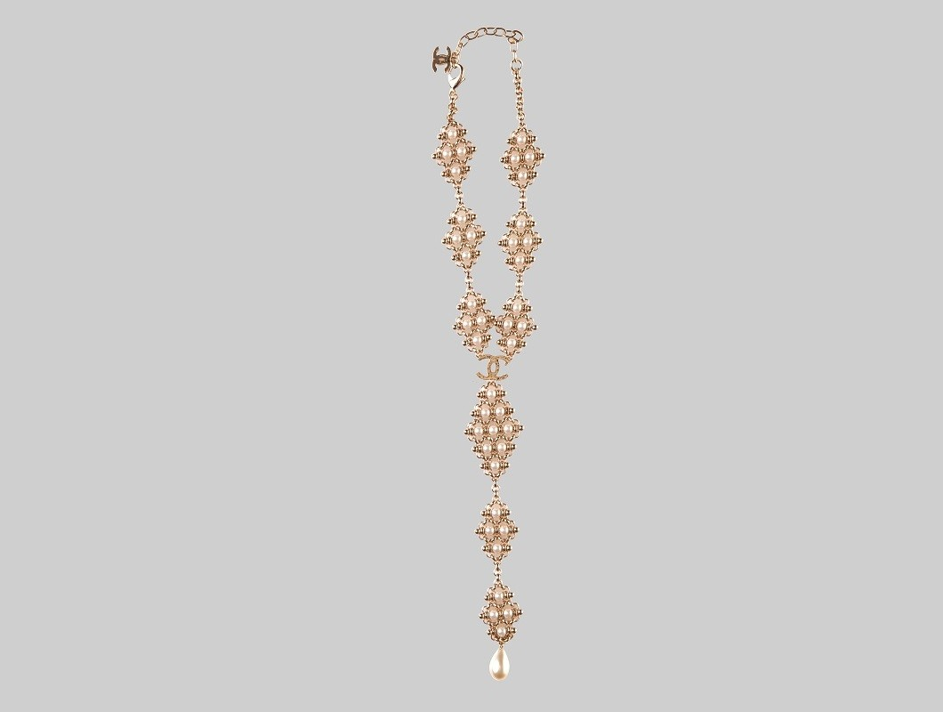 Collier d'or avec des perles LINEA PIU LUXURY ITEMS