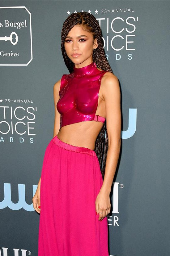 Zendaya critics choice awards 2020 red carpet fashion tom ford tom lorenzo site 3