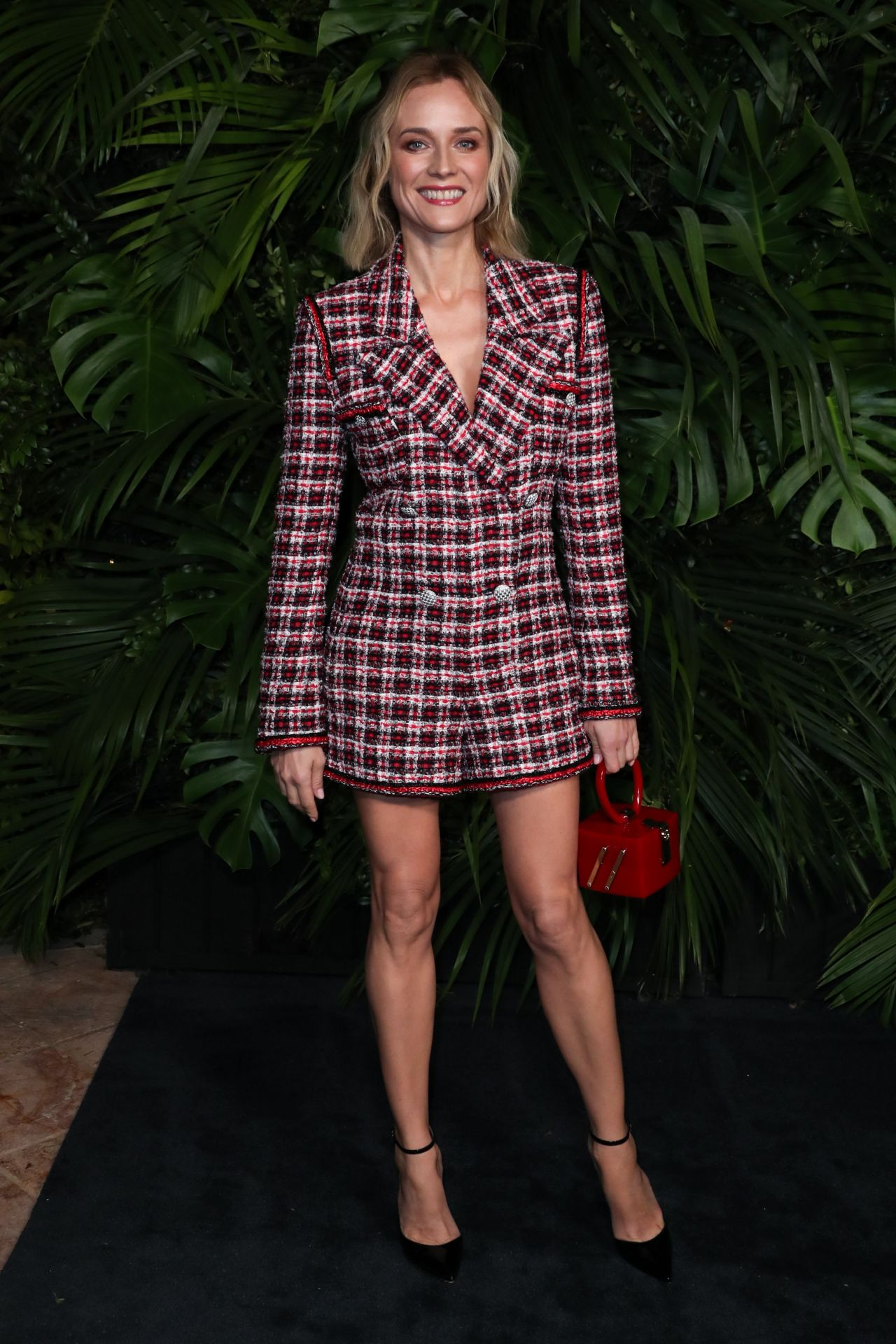 Diane kruger charles finch and chanel pre oscar awards 2020 dinner 4