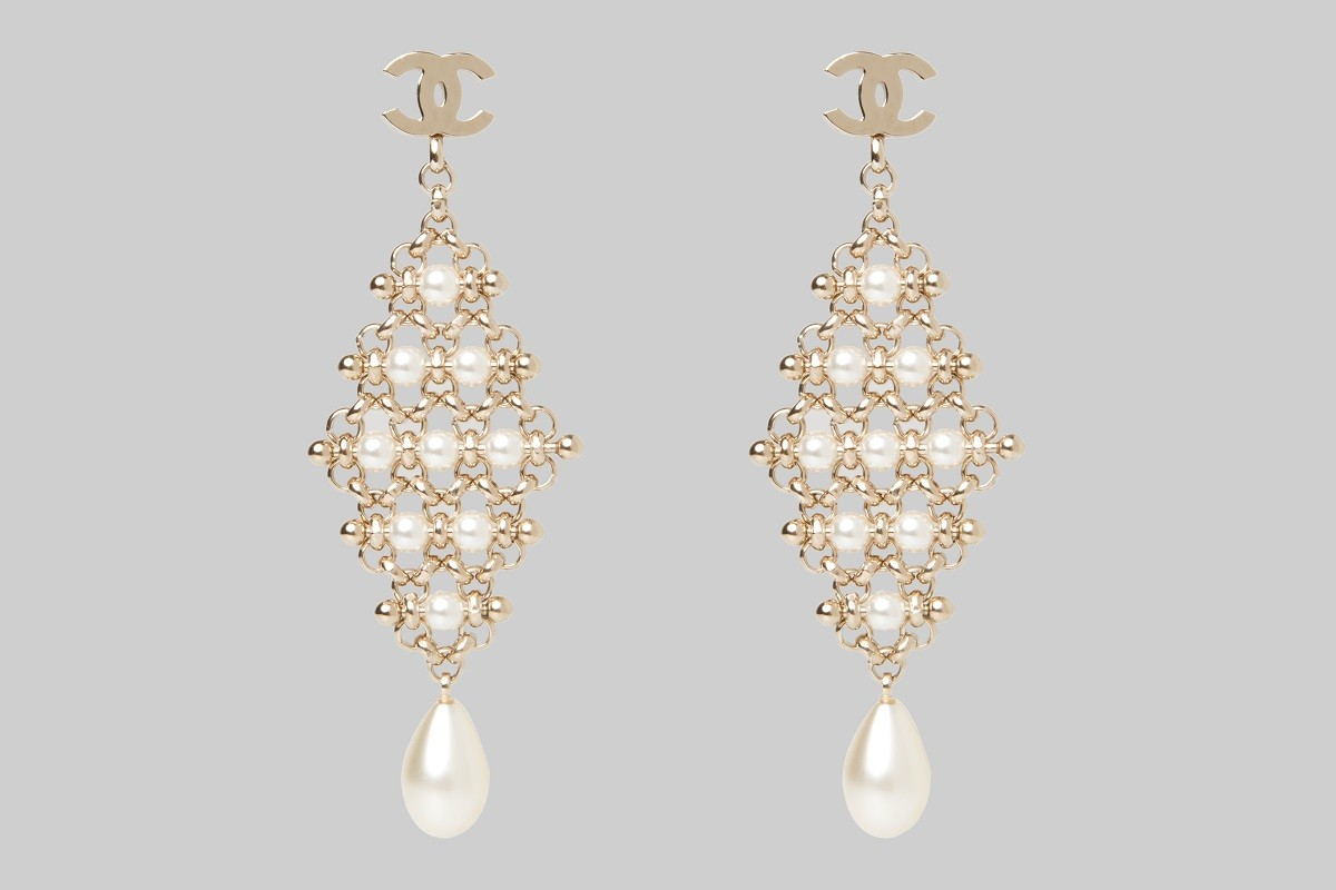 Gold Earrings with pearls LINEA PIU LUXURY ITEMS